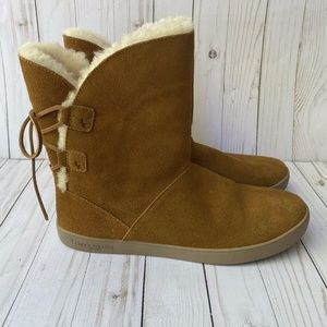 New! Koolaburra by UGG Lace Up Back Boots